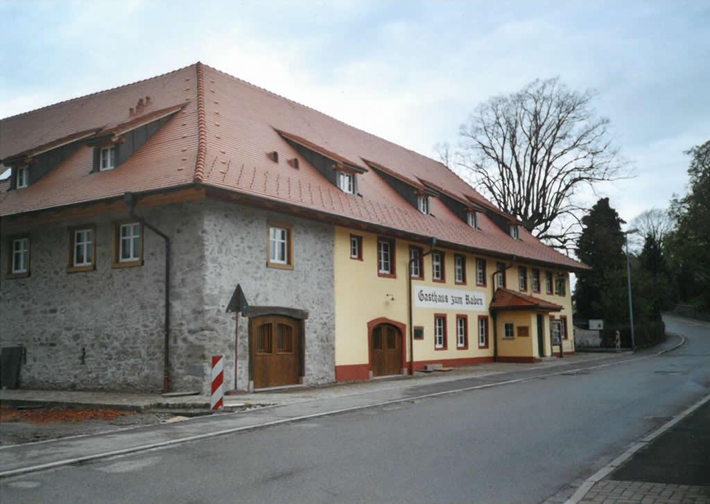 Gasthaus Raben, Horben saniert